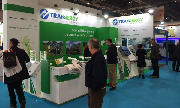 Trannergy Exhibits at Ecobuild 2015 in London