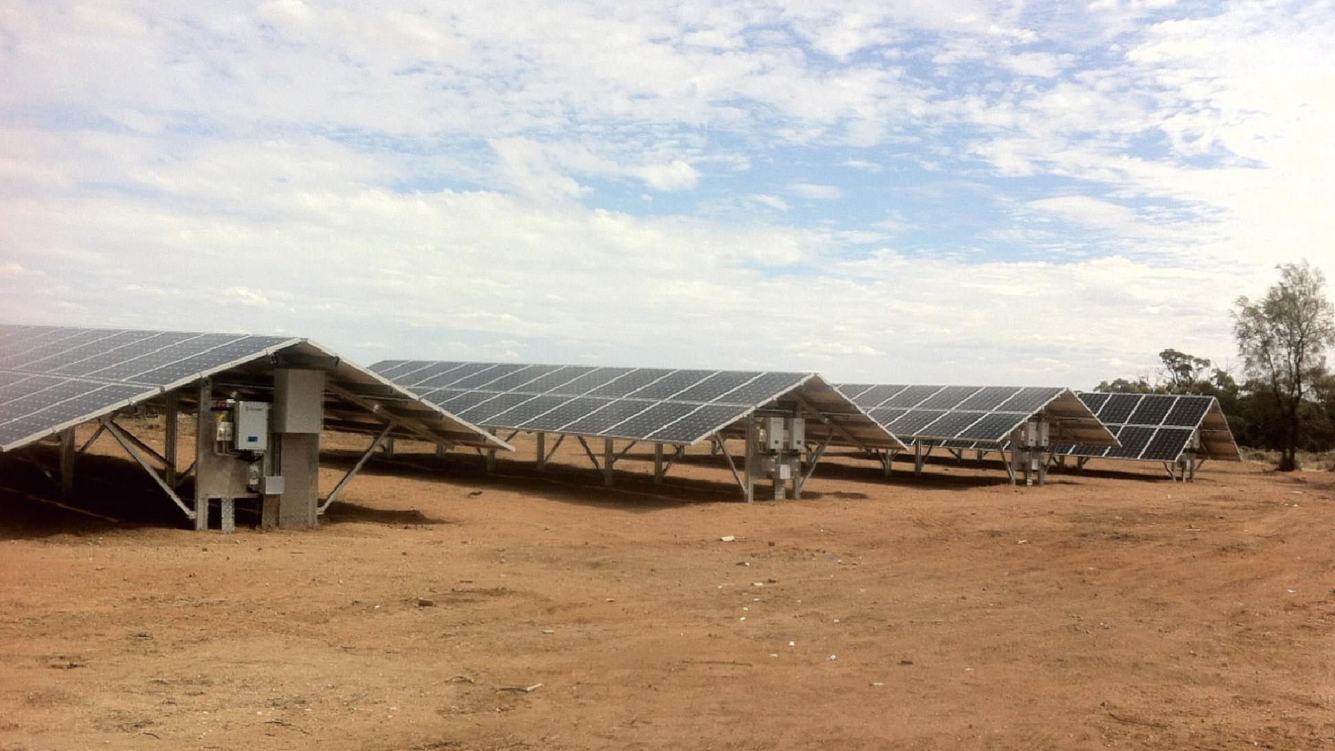 澳大利亚沙漠电站  3MW