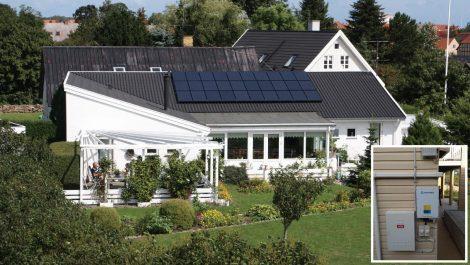 澳大利亚别墅屋顶示范项目  5.7KW