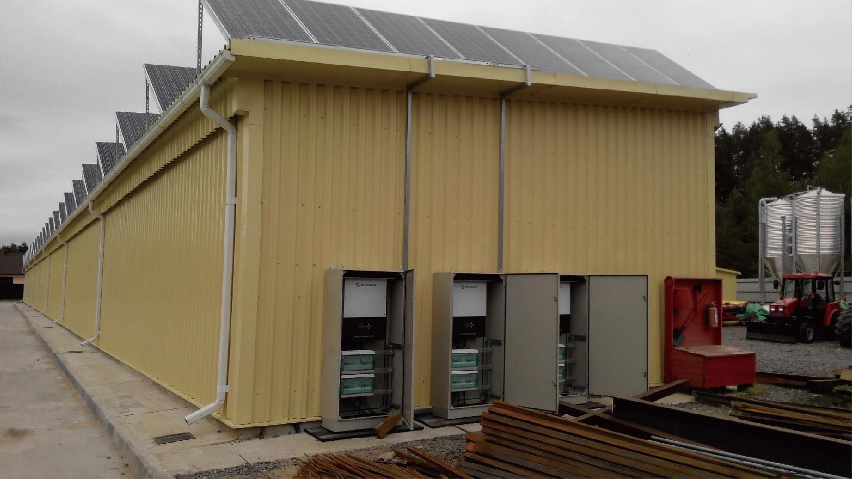 白俄罗斯系列工厂屋顶项目  5.1MW