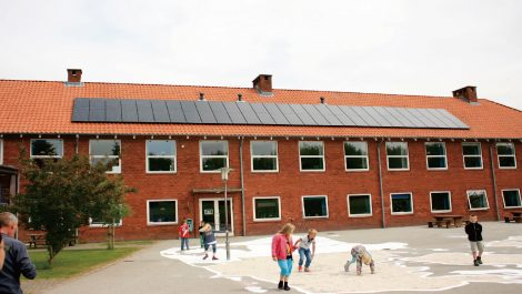 丹麦30所学校屋顶项目  515KW