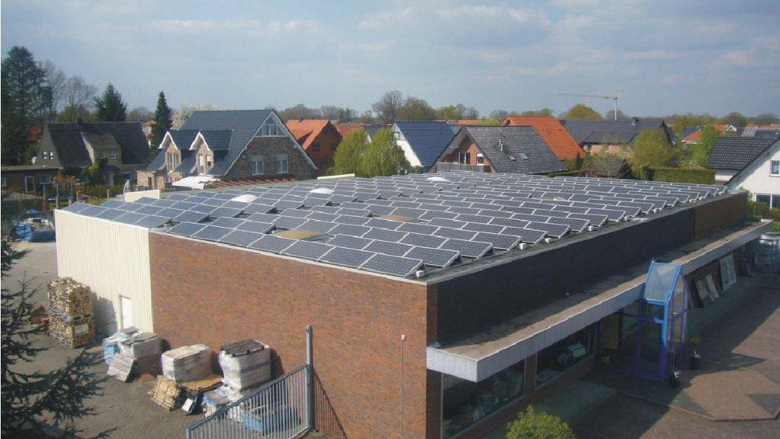 德国工厂屋顶  143KW
