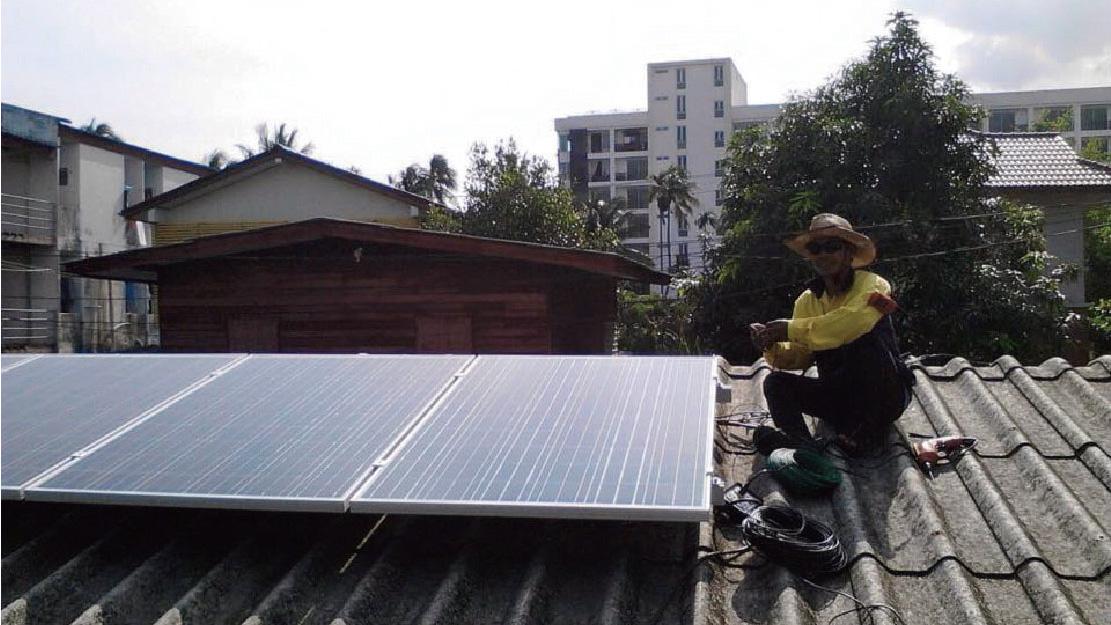马来西亚社区屋顶项目  400KW