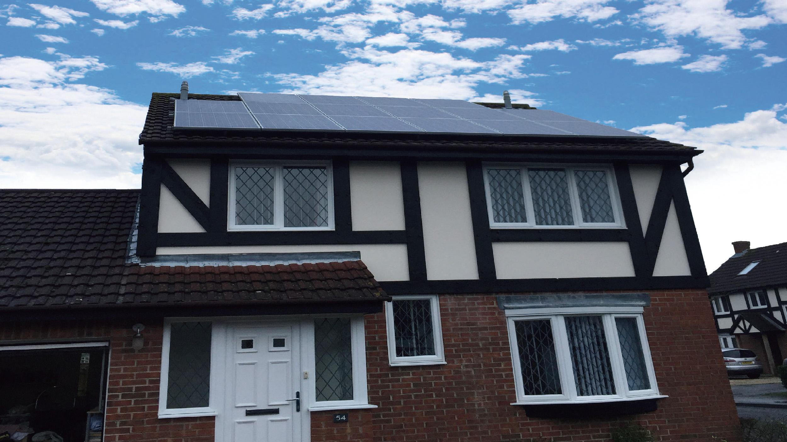 日本户用屋顶项目  50KW
