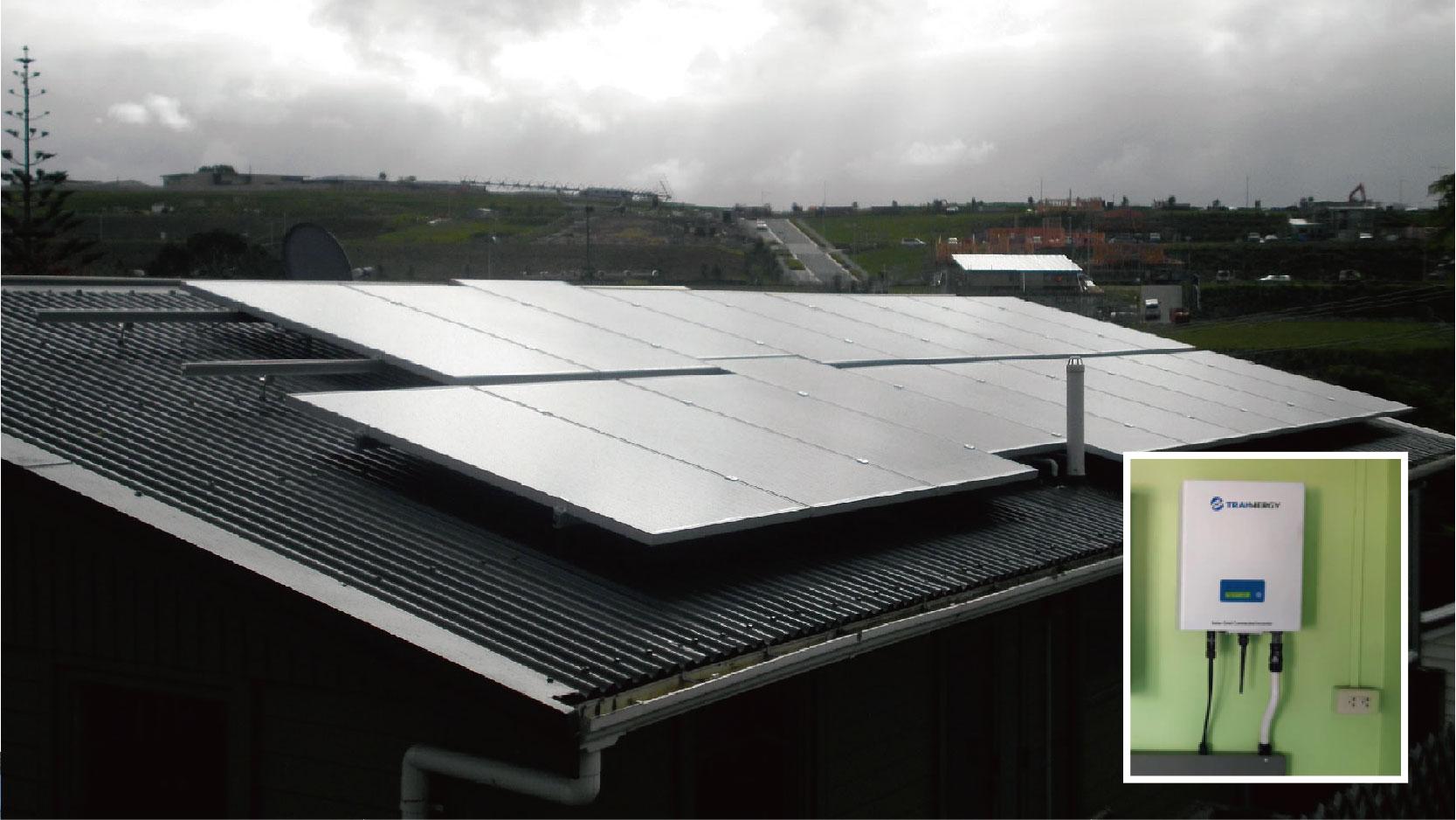 新西兰农场仓库项目  5.2KW