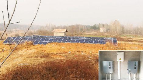 安徽临泉6兆瓦扶贫项目
