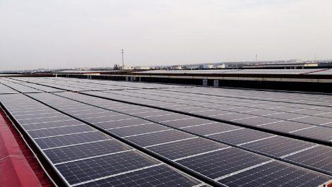 江苏昆山千灯镇分布式屋顶电站项目   2.97MW